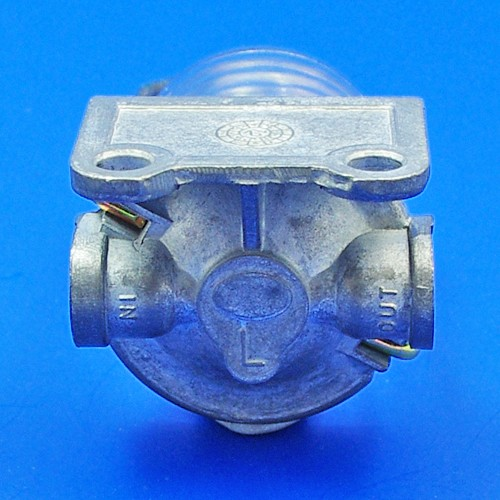 glass bowl fuel filter - glass bowl fuel filter - left inlet