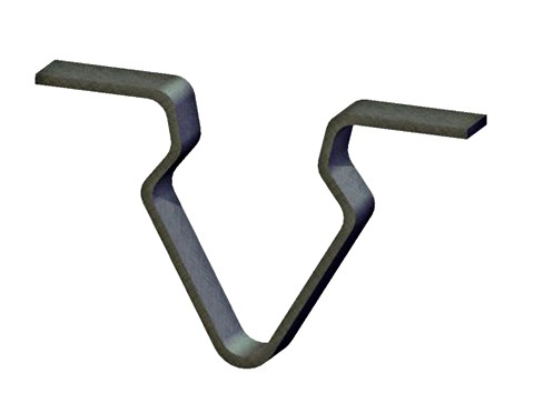 weatherstrip or panel clip
