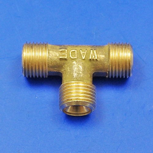 solder nut type tee piece - solder nut type tee piece 1/8 BSP