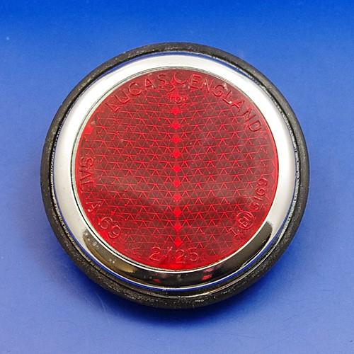 large chrome reflector