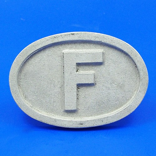 cast France plate F