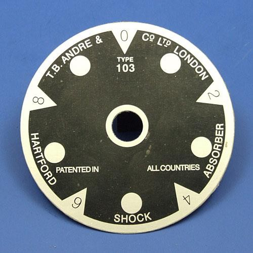 T B Andre indicator dial 103