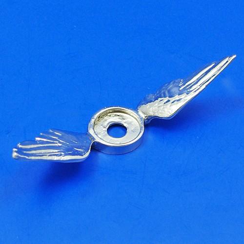 calormeter wings - low - chrome
