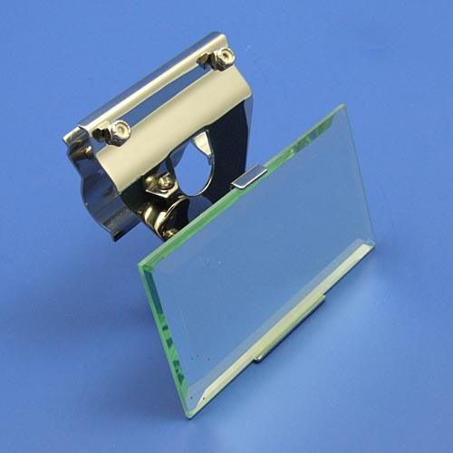 mirror for top rail mounting