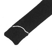 windscreen filler strip black