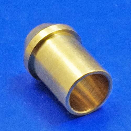 solder pipe nipple - CA127 5/16 inch pipe nipple for 1/4 BSP nut