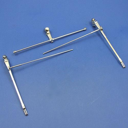 tandem wiper set - nickel plated