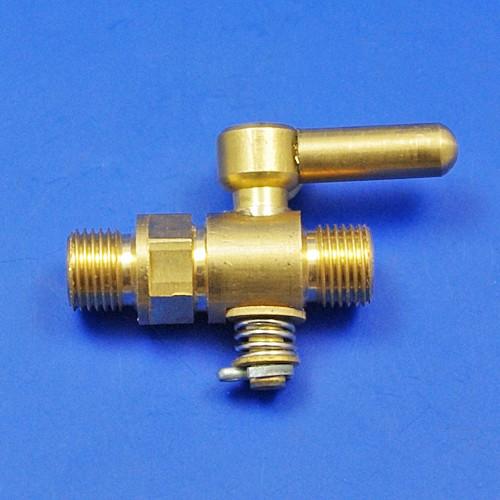 1/8 inch BSP in line oil tap