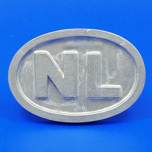 cast Netherland plate NL