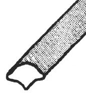 windscreen filler strip chrome
