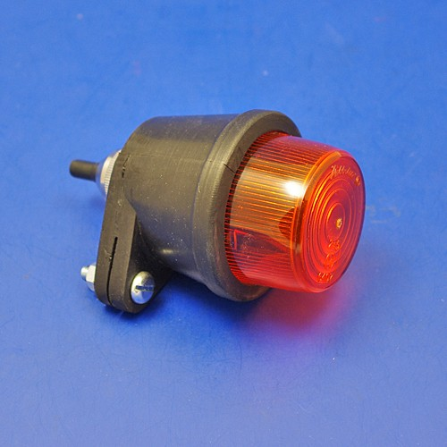 rubber indicator lamp - no side lens