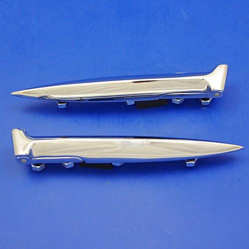 chrome hinge (pair)