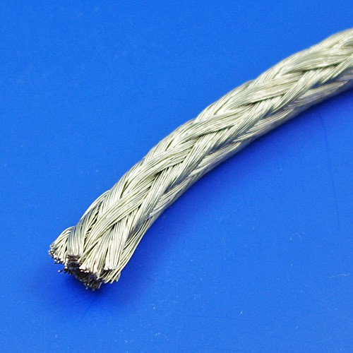 braided earthing cable - round