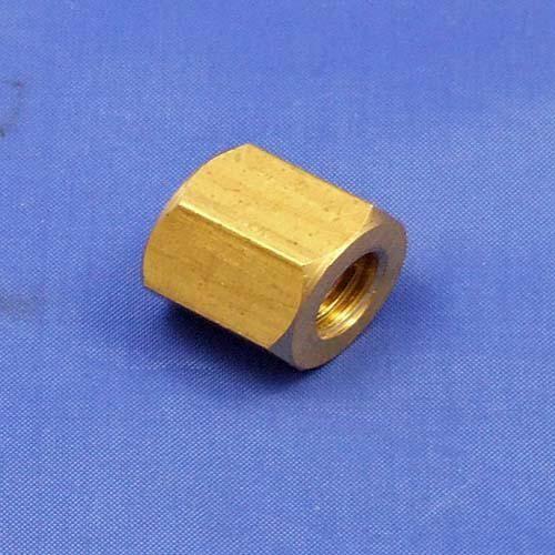 brass manifold nut - 3/8