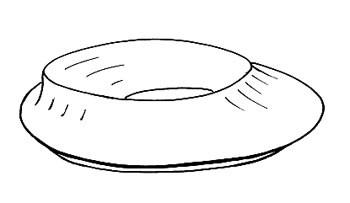 fuel filler pipe grommet oval
