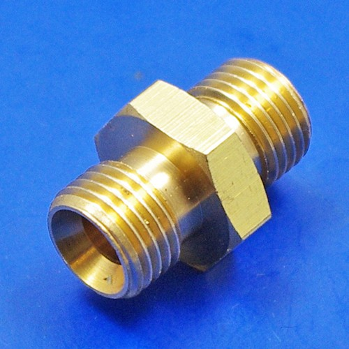 equal ended union - brass equal ended union - 1/4 BSP