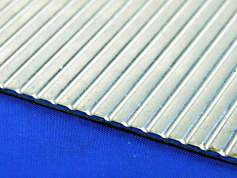 aluminium sheet - ribbed pattern - aluminium sheet - ribbed pattern