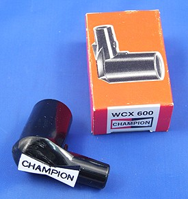 WCX600 spark plug terminal  - Champion marked