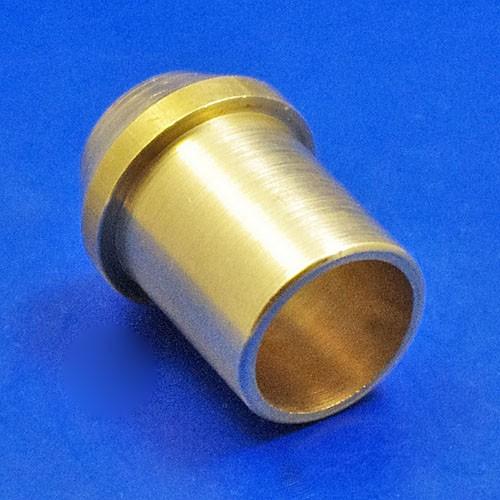 solder pipe nipple - CA129 1/2 inch pipe nipple for 1/2 BSP nut