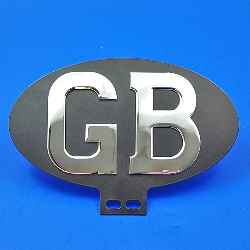 GB oval plaque (bottom mount)