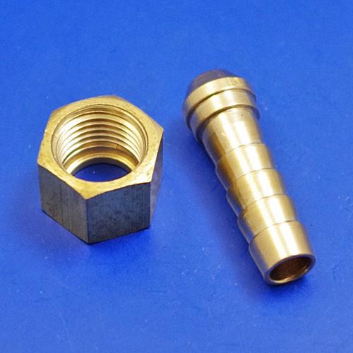 flexible hose fittings - 1/4BSP for 5/16 pipe