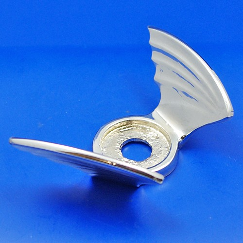 calormeter wings - small - chrome
