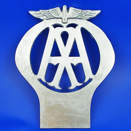 AA aluminium sign