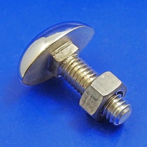 889b  oval head bumper bolt - studs and bolts