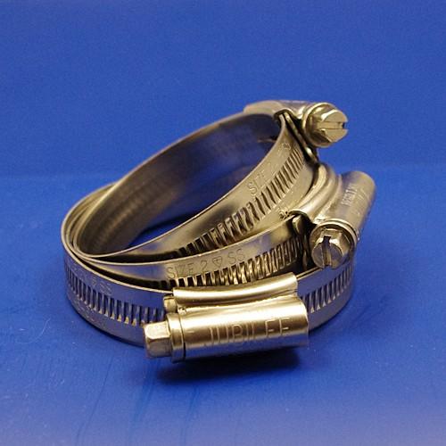 Jubilee hose clip / hose clamp - size 2X