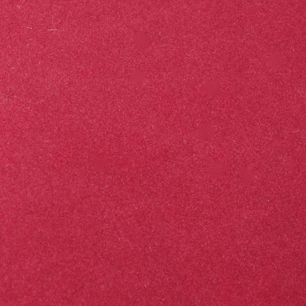 maroon velour cloth