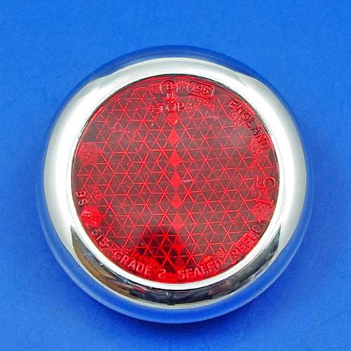 reflector - chrome rim