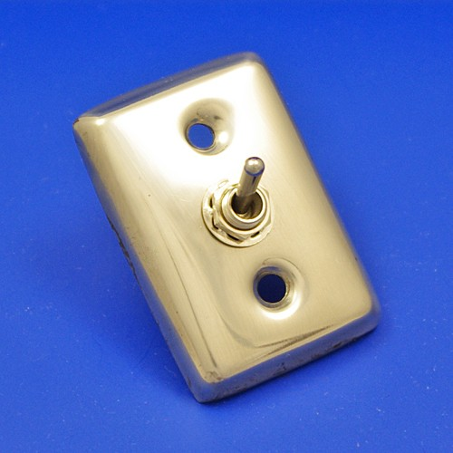 toggle switch on back plate