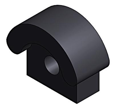 door buffer rubber