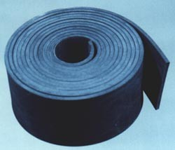 518 Flat Rubber Glazing Strip Solid Extrusions Rubber