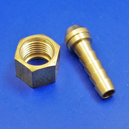 flexible hose fittings - 1/4BSP for 1/4 pipe