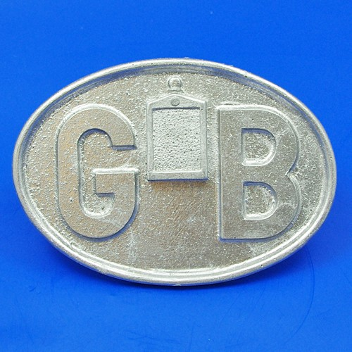 cast GB plate with Morris Flatnose Radiator