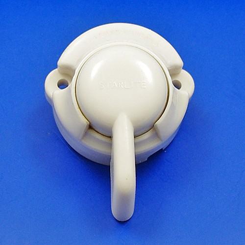 white surface mount traficator switch