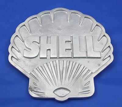 Shell alunimium sign