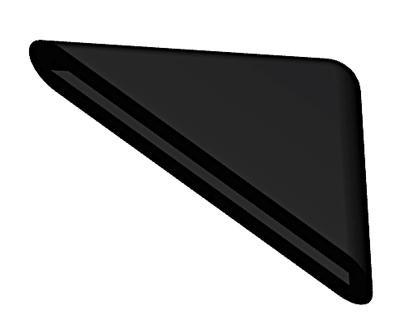rubber bonnet corner