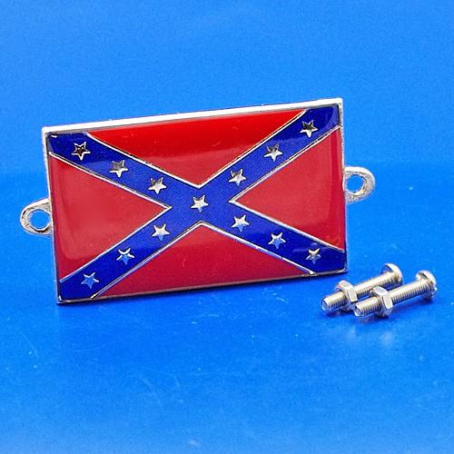 enamel nationality flag badge / plaque USA Confederate