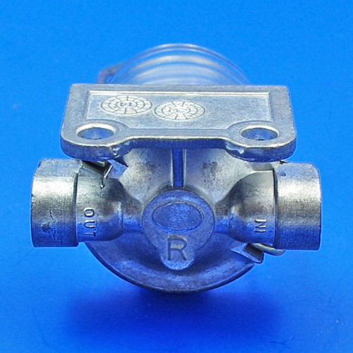 glass bowl fuel filter - glass bowl fuel filter - right inlet