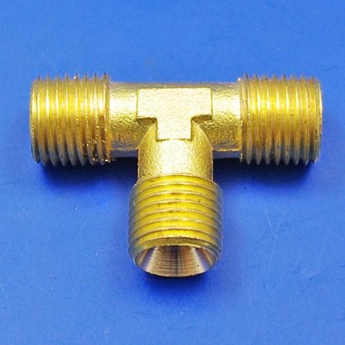 solder nut type tee piece - solder nut type tee piece 1/4 BSP