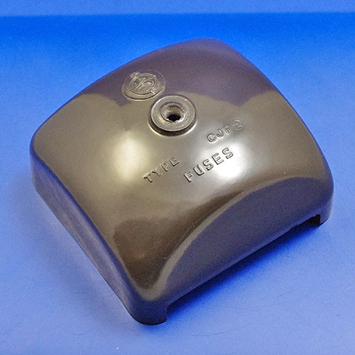 CJF2 brown fuse box lid