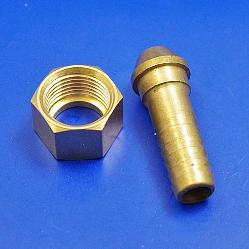 flexible hose fittings - 3/8BSP for 3/8 pipe