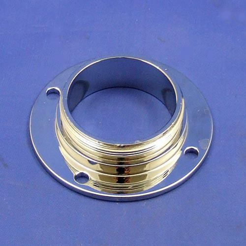 filler cap adapter neck - chrome on brass
