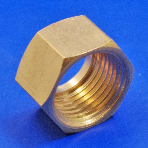 solder type fitting nut  - CA122A 1/2BSP nut for solder type nipple