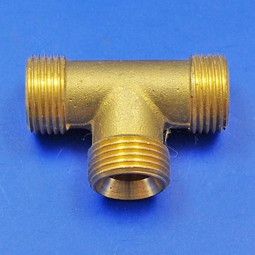 solder nut type tee piece - solder nut type tee piece 3/8 BSP