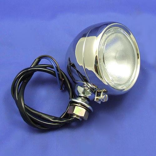 large sidelamp type VS45  - all nickel