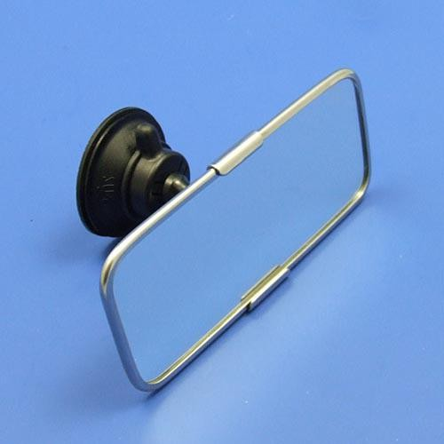 suction mirror - stainless steel