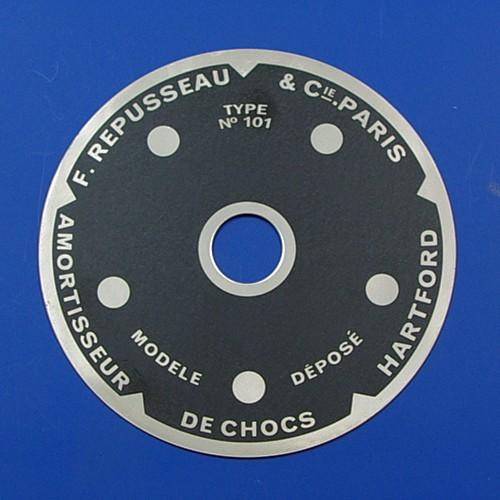 F Repusseau indicator dial 101
